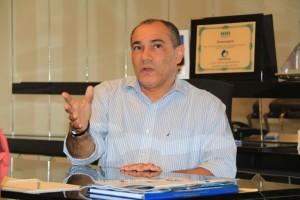 Presidente do Sincor-AL, Edmilson Ribeiro, fala sobre seguro fiança   Foto: Sandro Lima