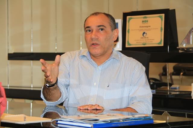 Presidente do Sincor-AL, Edmilson Ribeiro, fala sobre seguro fiança | Foto: Sandro Lima