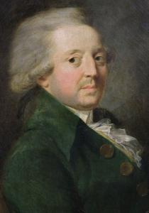 Filósofo e matemático francês, Marie Jean Antoine Nicolas de Caritat, marquês de Condorcet; também  referido como Nicolas de Condorcet.