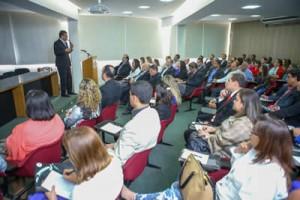 Público lotou auditório do Sindeg MG/GO/MT/DF