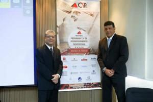 Presidente do CSP-MG, João Paulo Moreira de Mello, e Mauricio Morais