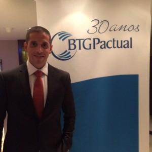 André Gregori, CEO da BTG Pactual Seguros