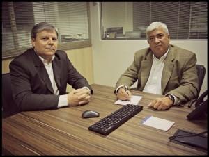 Assessores da RB Investimentos, Fábio Lara e Valdir Lino