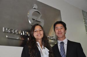 Na foto Camila Prado e Rafael Tsuzuki | Foto: Funenseg