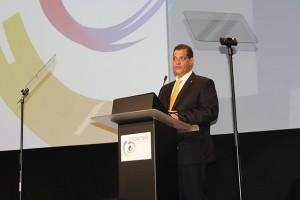 Presidente da Fenacor, Armando Vergílio | Foto: Andreza Araújo