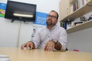 Djaildo Almeida, diretor do Sincor-AL | Foto: Sandro Lima